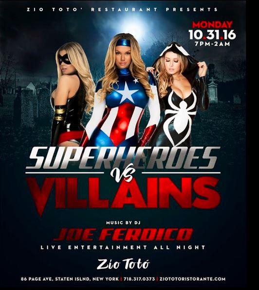 Superheros & Villains