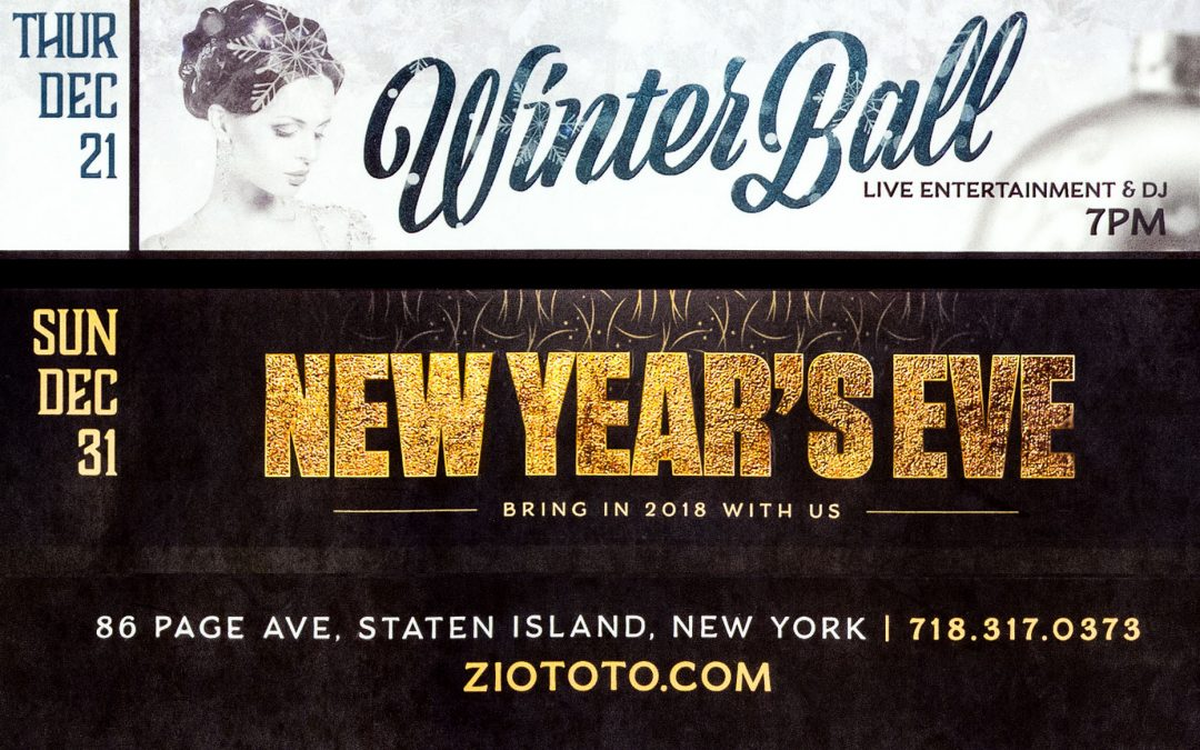 Winter Ball & New Year's Eve